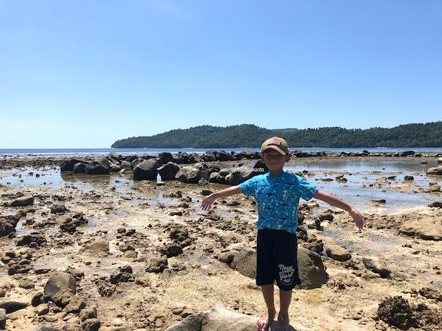 Makin eksotis di Pantai Paradise Likupang Timur