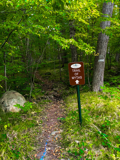 Trail of Myths Loop on the St Croix Falls Segment of the Ice Age Trail