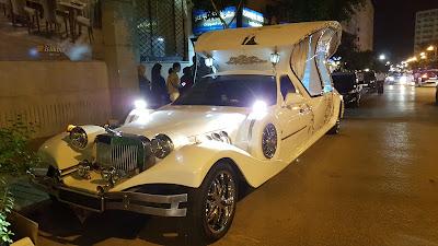 limousine per matrimonio