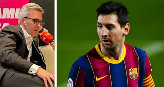 Font and his board plan to offer Messi a lifetime contract'