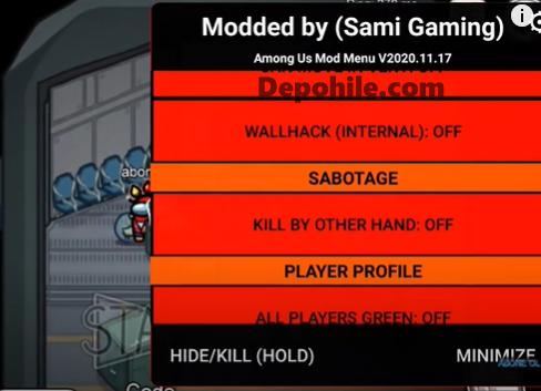 Among Us Sami Gaming Menu Hile Yeni Versiyon Android 2021