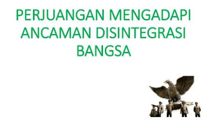Tuliskan contoh konflik di Indonesia yang berkait dengan vested  interest, yang terjadi antara tahun 1948-1965. Jelaskan!