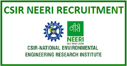 NEERI Project Assistant Recruitment 2019