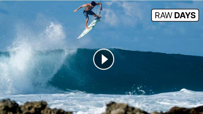 RAW DAYS Maldives with Yago Dora Island surfing in September