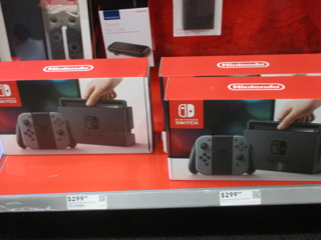 Nintendo Switch stock inventory Best Buy available brick and mortar physical store boxes