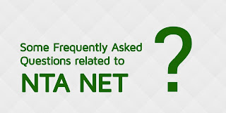 Some Frequently Asked Questions related to UGC NTA NET