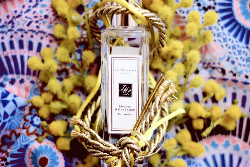 Jo Malone Mimosa & Cardamon cologne blog review aimerose