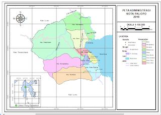cara membuat inset pada peta utama lengkap dengan ArcGIS