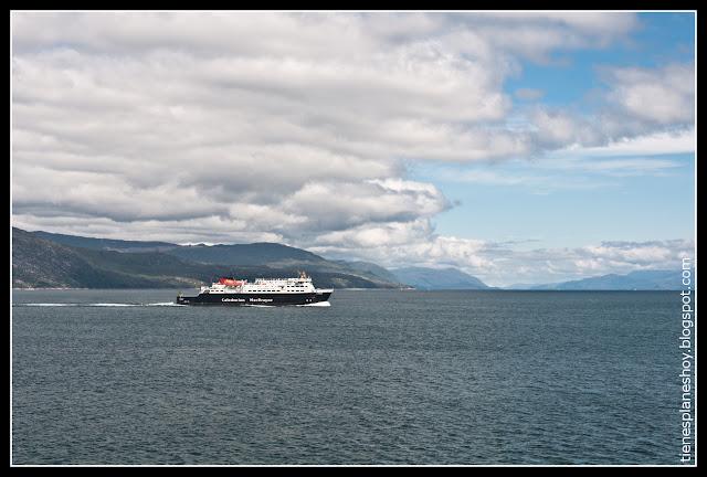 Ferry Isla de Mull (Escocia)