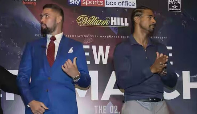 Tony Bellew Vs David Haye Rematch Postponed Till 2018