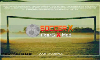 FTS 15 Mod Soccer X by Harry Xf Apk + Data Android