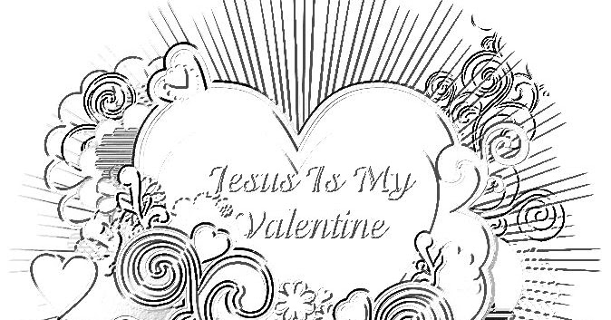 Christian Images In My Treasure Box: Jesus Is My Valentine