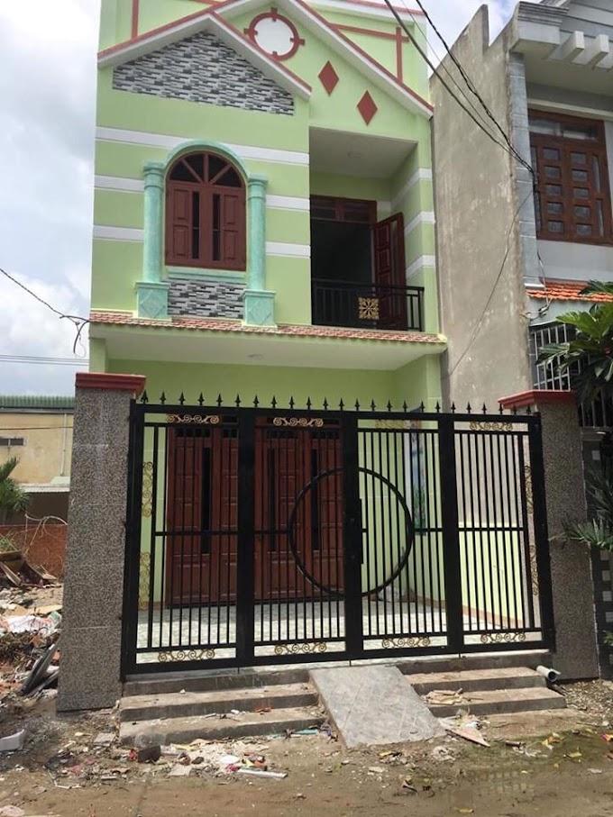 Cần bán nhà mới xây lầu trệt SỔ HỒNG RIÊNG ở đường Bình Chuẩn 62, Thuận An, Bình Dương