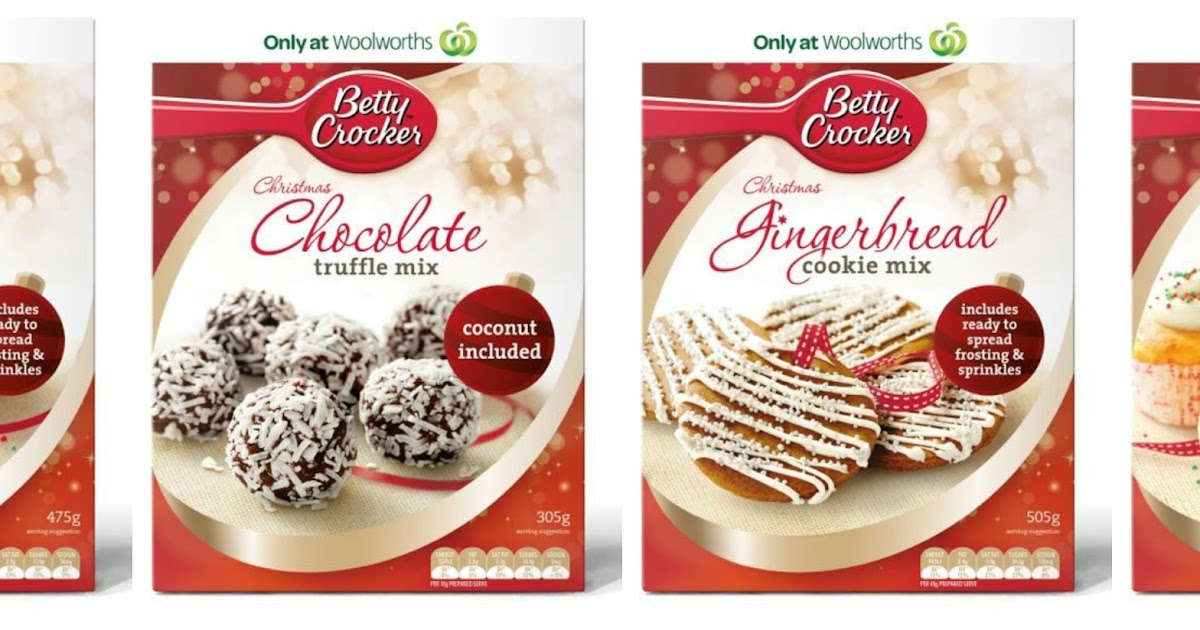 bubble and sweet betty crocker australia christmas range and a baking pack giveaway - Betty Crocker Christmas Cookie Recipes