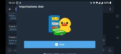 da whatsapp a telegram