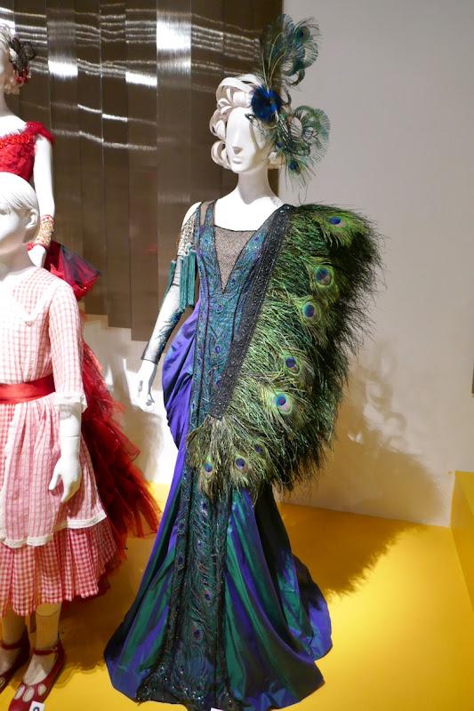 Eva Green Dumbo Colette peacock feather costume