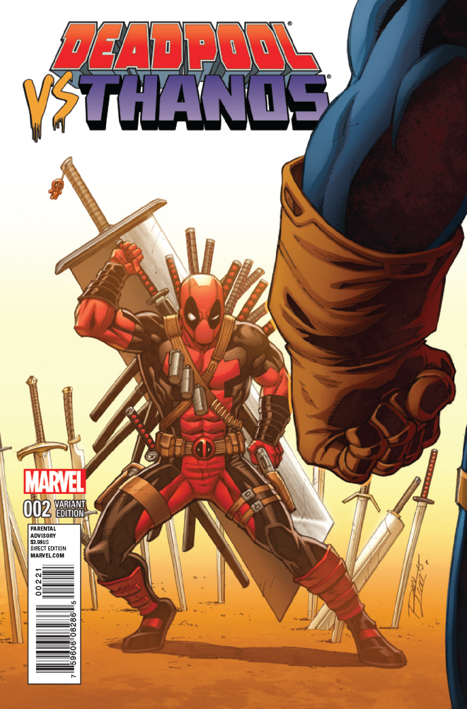 Deadpool Vs Thanos #2 Preview  Deadpool Bugle
