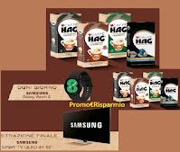 Concorso Nuovo HAG 2021 : in palio 90 Samsung Galaxy Watch4 bluetooth (269€) e TVQLED