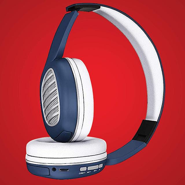 iBall Decibel BT01 Smart Headphone with Alexa Enabled – Blue