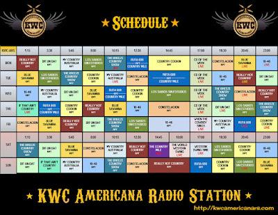 http://kwcamericanars.com/timetable/