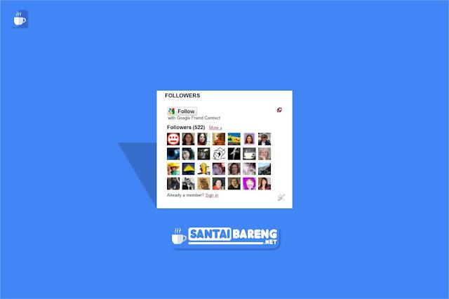 Cara Membuat Widget Followers Blog Tanpa Menampilkan Foto