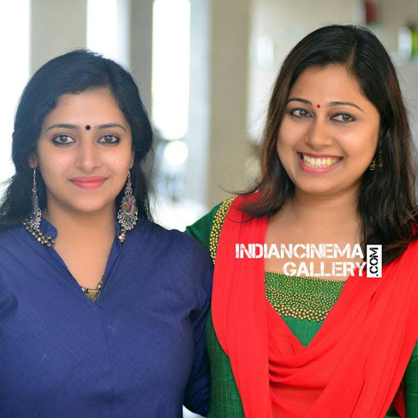 Anu Sithara latest photos from Captain movie promo