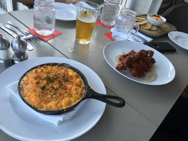 Firefly Restaurant Mac and Cheese, Duck Wings