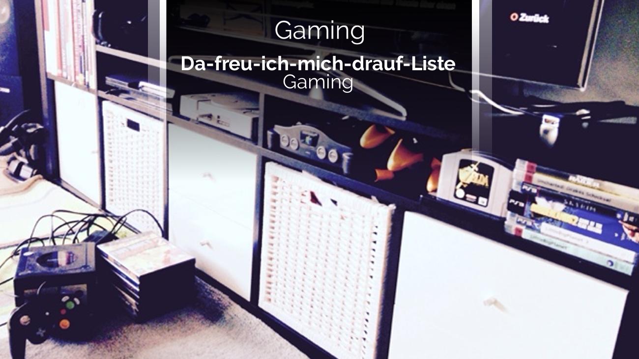 Gaming Neuerscheinung Release 2017