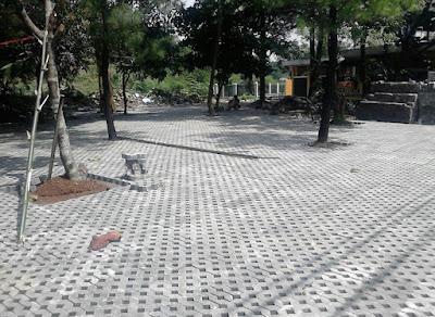 jual paving gras block
