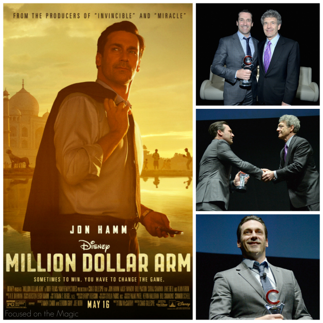 "Jon Hamm, ""Million Dollar Arm""  Cinema-Con"
