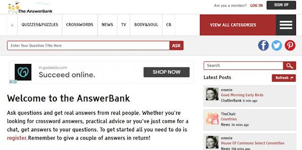 Answer Bank
