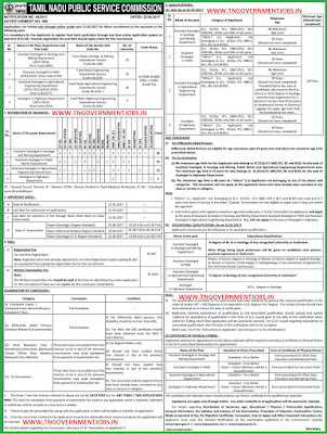 tnpsc-assistant-geologist-and-geologist-recruitment-notification2017