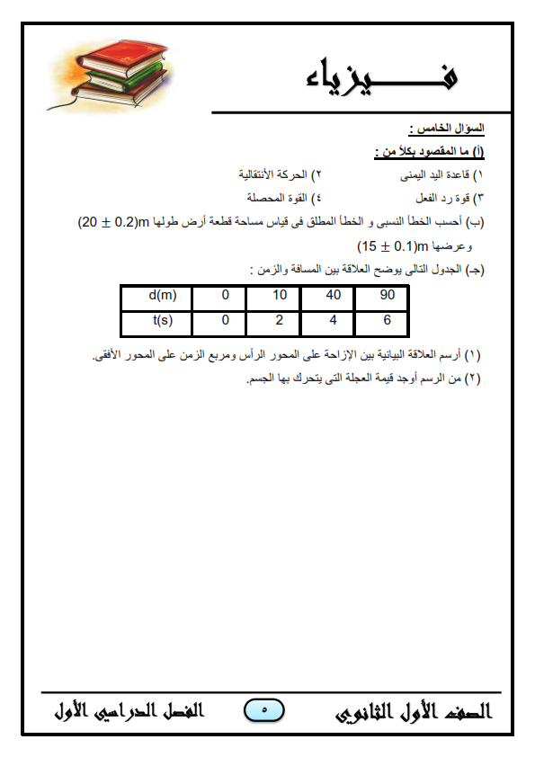 مراجعة 555 فيزياء للصف الاول الثانوى _%2B__%2B2018_005