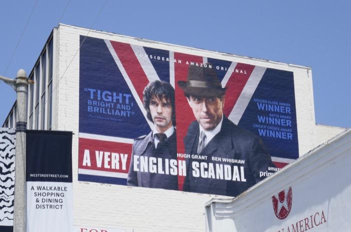 A Very English Scandal Emmy FYC billboard