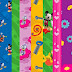 Mickey Clubhouse: Free Printable Papers or Backgrounds.