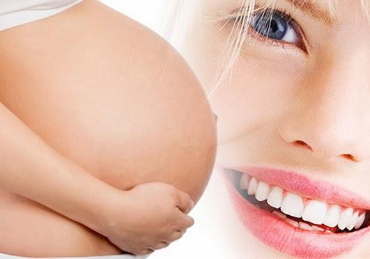 Resultado de imagen de embarazo y dientes