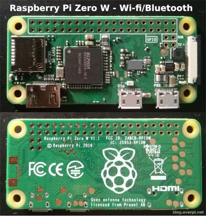 Raspberry Pi Zero W brasil