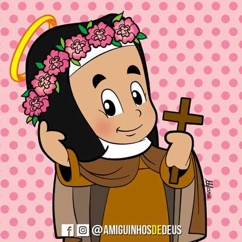 Santa Rosa de Viterbo desenho