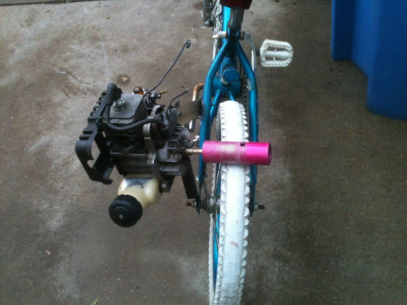 Build a weed eater bike: How To Build A Motorized Bicycle