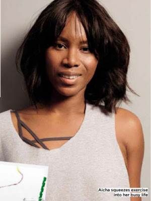 Aicha McKenzie co-founder of AMCK Fit