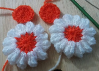 Rnd 2. Crochet Blanket