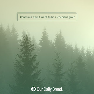Our Daily Bread (ODB): 16 September 2020 - Give It All You've Got