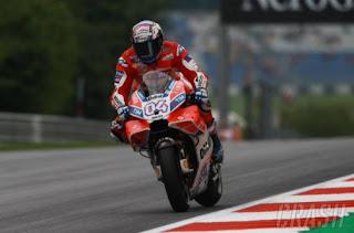 Hasil MotoGP Austria 2017: Andrea Dovizioso Juara, Rossi Ketujuh