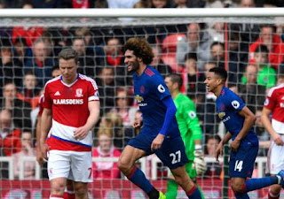Manchester United Taklukkan Middlesbrough 3-1