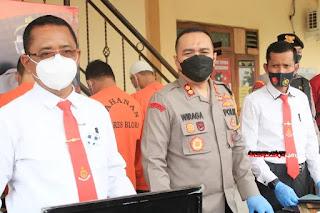 Sempat Buron, Satreskrim Polres Blora, Tangkap Pelaku Tindak Pidana Ilegal Loging Juga Residivis
