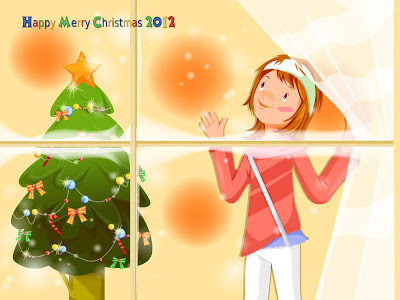 christmas-wallpapers-cartoon-girl