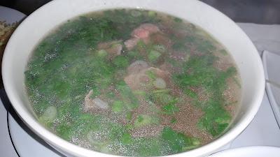 food - Vietnamese - lean beef pho