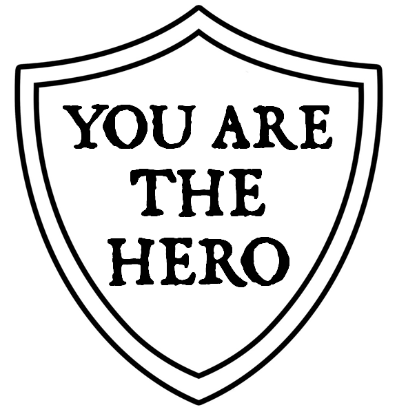 you are the hero you are the hero custom dice Hero T Shirt Designs the dice will have five normal faces and one featuring the you are the hero shield logo