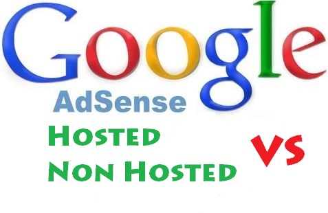 Beda adsense hosted dan non hosted