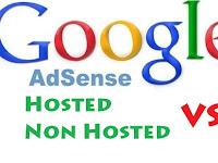 Bedanya Akun Adsense Hosted Dan Non Hosted
